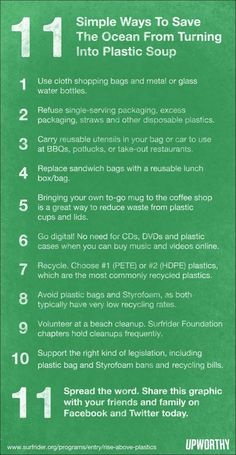 Simple Ways to Help Our Planet!  #ECOLOGY #Earth #Sustainability
