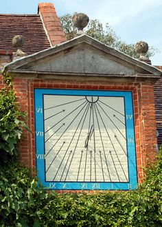 Packwood House, Solihull –Sundial