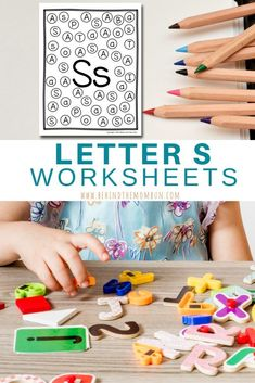 These Letter S worksheets are packed is full of fun hands-on activities and games for your young reader. It includes activities your kids will love. Letter S Worksheets, Letter S Activities, Toddler Learning Activities, Sorting Activities, Kindergarten Worksheets, Hands On Activities, Kids Learning, Learning To Write, Learning The Alphabet