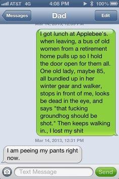 I love old people!
