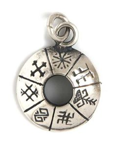 Latvian Pendant with Symbols of Protection  BalticShop.com