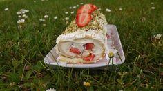 Roulé aux fraises à l'italienne