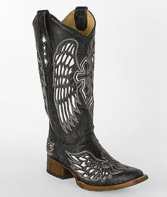 Corral Winged Cross Cowboy Boot $270 (I cannot get enough of Corral's angel winged boots)