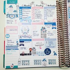 Half week done!  #planneraddict #plannernerd #plannerlove #plannergirl #eclp #eclayout #erincondren #erincondrenlayout #eclifeplanner