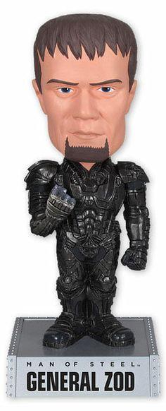 Cabezón General Zod, 10cm. Superman Man of Steel Funko Cabezón perteneciente a la película Superman Man of Steel, con el General Zod de 10cm.
