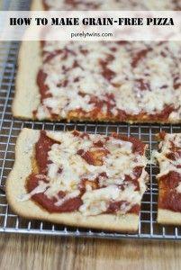 how to make grain free gluten free nut free pizza via purelytwins