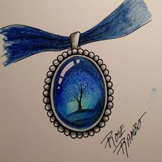Pretty pendant!! #vitruvianart #gemstonejewelry #gemobsessed #gemaholic #gemaddict #jewelerydesign