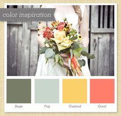 Color pallette for dressing room