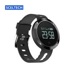 SCELTECH DM58 Smart Bracelet Blood Pressure Heart Rate Monitor IP68 waterproof Call reminder Activity Tracker Smart Band
