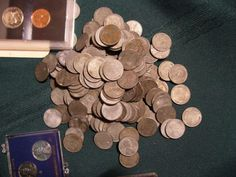 Valuable Pennies, Rare Pennies, Valuable Coins, Wheat Penny Value, Rare Coin Values, Penny Values, Wheat Pennies, Rare Coins Worth Money, Error Coins