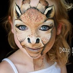 Looking for stunning face painting ideas for kids? See 20 of the most amazing and creative face painting for kids that they will surely love and be proud of Animal Face Paintings, Animal Faces, Face Painting Designs, Paint Designs, Painting Patterns, The Face, Face And Body, Halloween Make Up, Halloween Face Makeup