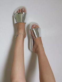 sandalia feminino rasteira chinelo slide várias cores