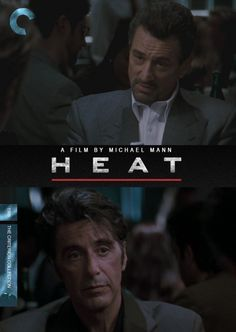 "Fake Criterion cover for ""HEAT"""