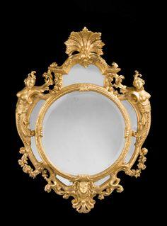 """windsorhouseantiques: """" 18th Century Italian Giltwood Mirror http://www.windsorhouseantiques.co.uk/stock/d/18th-century-italian-giltwood-mirror/249244 #mirror #antiques #interiordesign #luxuryliving..."""