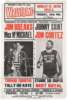 wrestling poster, hull by maraid, via Flickr