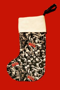 The Walking Dead Christmas Stocking Comic by BlossomvioletCrafts