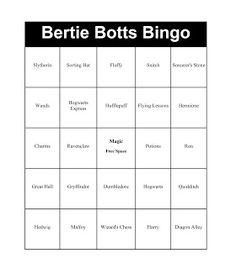bertie-botts-bingo