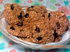 Cookies super saudáveis (sem açúcar, sem gordura, sem lactose, sem glúten, sem…