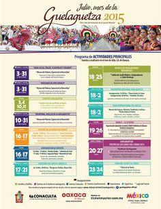 Programa Guelaguetza 2015