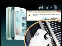 Fix iPhone SE Error iTunes Restore (-1) Related to Baseband Hardware / и...