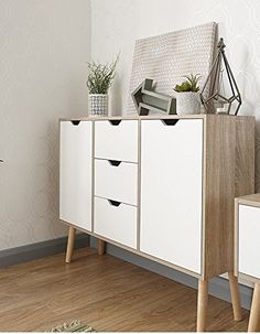 When it has to do with deciding on a sideboard all of it is based on the style and design which suits your home the very best. A sideboard may give yo. Black Sideboard, Sideboard Table, Small Sideboard, Mid Century Sideboard, Vintage Sideboard, Sideboard Furniture, Solid Wood Furniture, White Oak, Contemporary Furniture
