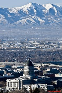 I miss the mountains...it's so pretty..Salt Lake City, Utah