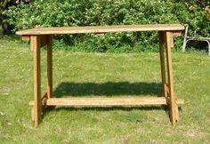 Bau eines transportablen Tisches