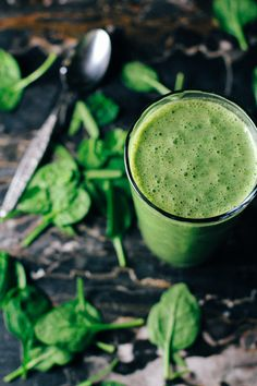 post-workout green protein smoothie 1 scoop whey protein, 1 banana , 2 cups spinach, 1/4 plain Greek yogurt, 1 tbs peanut butter, 1/4 -1/2 coconut water, handful ice