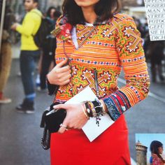 Thu Thu Saba jacket@german Grazia magazine