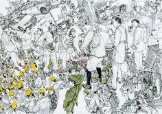 5月9日(土)から26日(火)にかけて、「世界一絵の上手い漫画家」としてネット上でも話題となった韓国出身のアーティスト・Kim Jung Gi(キム・ジョン・ギ)さんの個展が、東京・中野ブロードウェイ内のギャラリー・Hidari Zingaroにて開催される。本展は、現代美...
