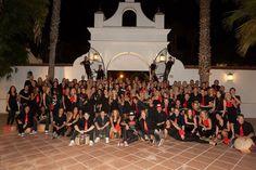 Dutch group at Hacienda El Vizir, Sevilla. 2011.