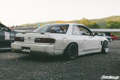 You don't need 3 piece Johnnies and a full kit to have style. Tuner Cars, Jdm Cars, S13 Silvia, Jdm Wallpaper, Classic Japanese Cars, Street Racing Cars, Nissan Gtr Skyline, Nissan Silvia, Drifting Cars