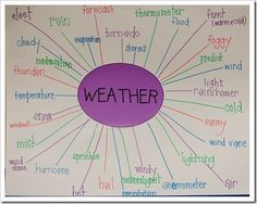 A web would be a great way to teach students. When going each season and life in that season we could construct a web together as a class. In the center we would place the title of the season and the things around it would be clothing used, activities done, holidays that take place, etc.