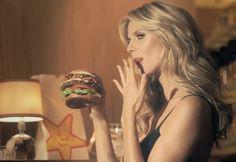 Heidi Klum burger babe
