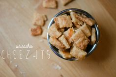 RECIPE: SRIRACHA CHEEZ-ITS  {on my name is yeh}