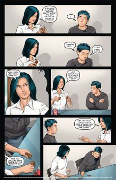 The Young Protectors: Engaging The Enemy Bonus Comic One—Page 12 - Yaoi 911 Webcomics