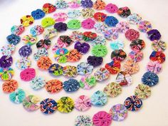 Party Garland made from Fabric by