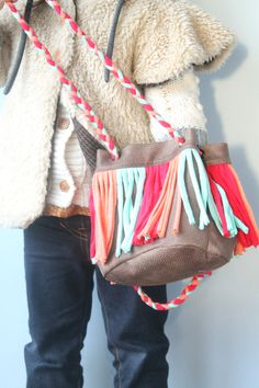 Small Fringe Purse