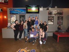 Where does Starbucks go when they're looking for a lat-te fun? #LaserQuest of course!