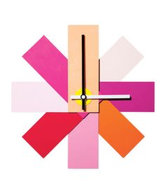 Watch Me Wall Clock    Cheer up a kitchen wall in no time with this colorful clock.    To buy: 11.2 inches in diameter, $45, huset-shop.com