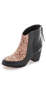 Twelfth St. - Aston Zip Back Haircalf Boots - $109.50