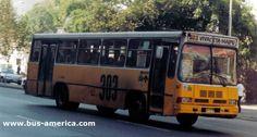 Cuatro Ases Metrópolis, sobre chasis Mercedes-Benz OF 1115 Buses, Mercedes Benz, America, Cars, Vehicles, Autos, Busses, Automobile, Car