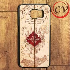Harry Potter Inspired Marauders Map Samsung Galaxy S7 Edge Case
