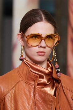 Ulla Johnson at New York Fashion Week Fall 2020 - Details Runway Photos Ulla Johnson, Fashion Details, New York Fashion, Cat Eye Sunglasses, Bandana, Sunnies, Runway, Fashion Jewelry, Cute Outfits