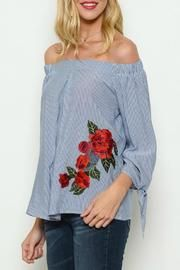 LTX Sportswear Striped Rose Patchwork - Front cropped