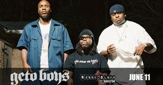 Enter for your chance to win 2 tickets to The Geto Boys at HOB Houston on June 11th!