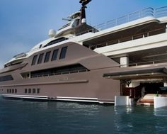 Indoor Pool, Aquarium and World's First Floating Garage: All in the Most Spectacular Luxury Yacht in the World Yacht Design, Boat Design, Design Design, Yacht World, Monaco Yacht Show, Sports Nautiques, Aquarium, Paris Match, Yacht Boat