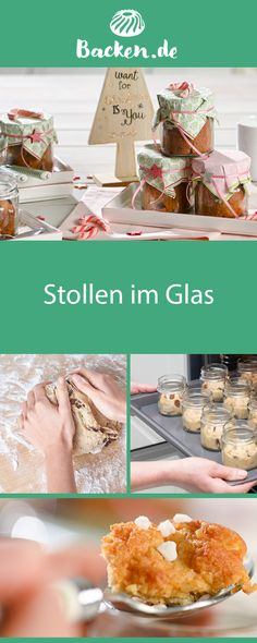 Mar 5 2020 - Stollen in the glass - An original recipe and a sweet gift idea for Christmas time: small stollen in a mas. Milk Recipes, Ice Cream Recipes, Flour Recipes, Pots, Smoothies With Almond Milk, Cake Games, Pumpkin Spice Cupcakes, Cinnamon Cream Cheeses, Fall Desserts