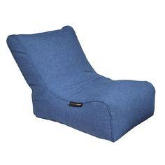 Evolution Blue Jazz by Ambient Lounge® Bean Bag Sofa, Evolution, Jazz, Lounge, Interior Design, Modern, Blue, Furniture, Airport Lounge