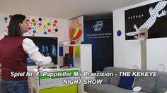 Spiel Nr. 4: Pappteller Mit Praezision - THE KEKEYE NIGHT SHOW #kekeye #kekeyespiele #kekeyetalente #wien #vienna Night Show, Vienna, Baseball Cards, Games